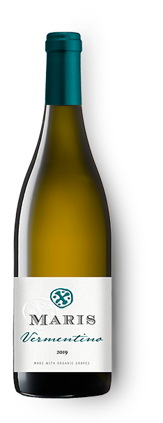 Bottle of Pays d'Oc Vermentino white wine
